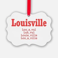 Louisville Ornament