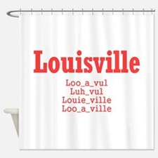 Louisville Shower Curtain