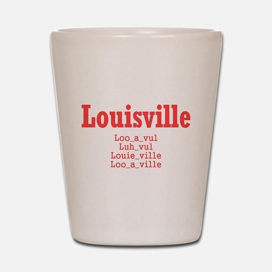 Louisville Shot Glass