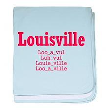 Louisville baby blanket