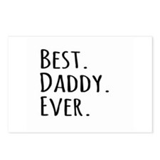 Best Daddy Ever Postcards (Package of 8)