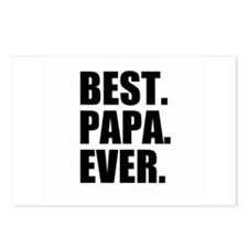 Best Papa Ever Postcards (Package of 8)