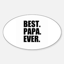 Best Papa Ever Decal