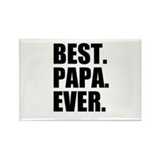 Best Papa Ever Magnets