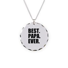 Best Papa Ever Necklace