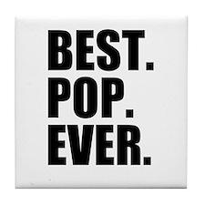 Best Pop Ever Tile Coaster