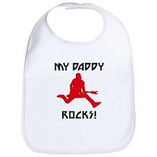 My Daddy Rocks! Bib