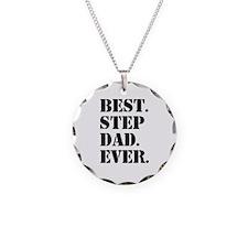 Best Step Dad Ever Necklace