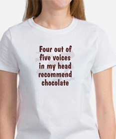 Chocolate Voices Women's T-Shirt