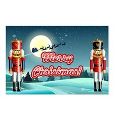 Nutty Nutcrackers Postcards (Package of 8)