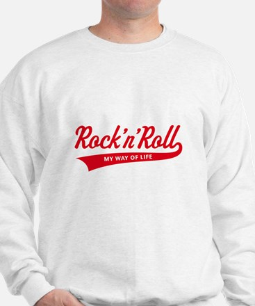 Rock 'n' Roll – My Way Of Life (Red) Jumper