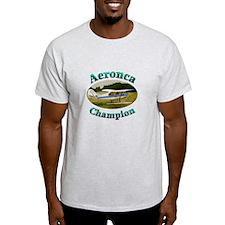 Aeronca Champ on floats T-Shirt