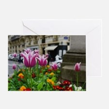 Traveling Flowers Greeting Card