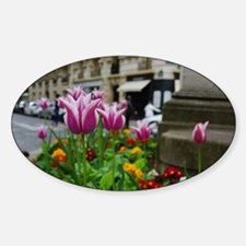 Traveling Flowers Decal