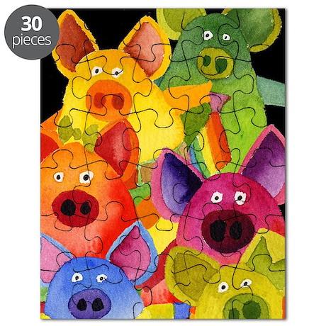 Fun Pigs Puzzle