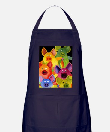 Fun Pigs Apron (dark)