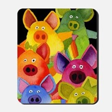 Fun Pigs Mousepad
