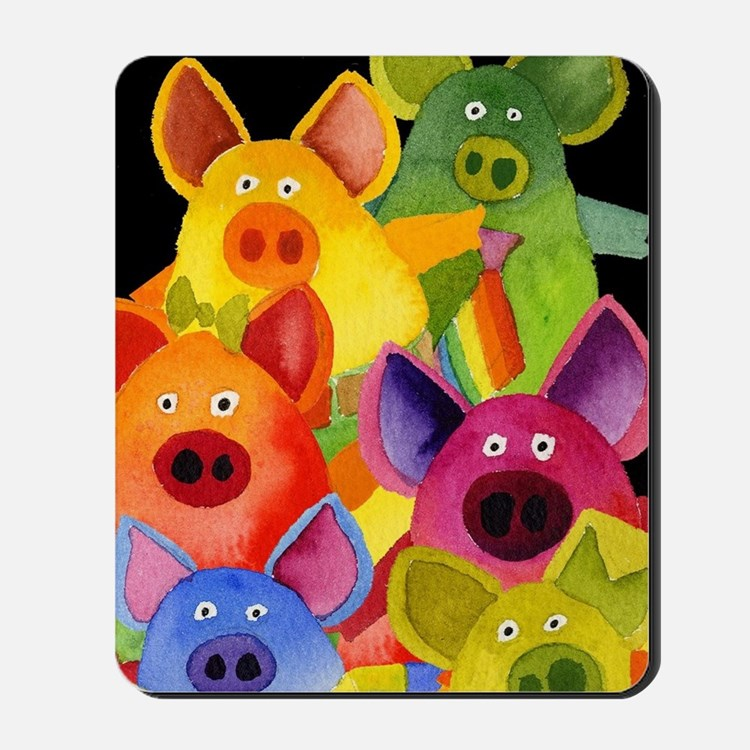 Fun Pigs Mousepad
