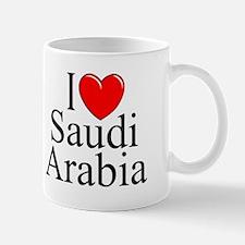 """I Love Saudi Arabia"" Mug"