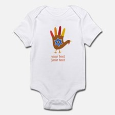 Personalize Thanksgivukkah Infant Bodysuit
