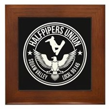 Squaw Valley Halfpipers Union Framed Tile