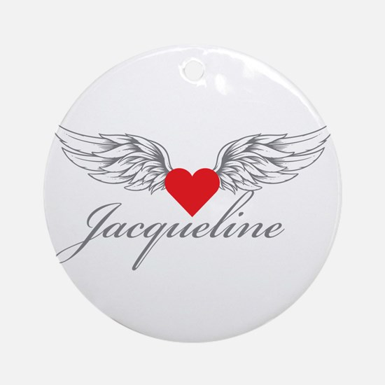 Angel Wings Jacqueline Ornament (Round)