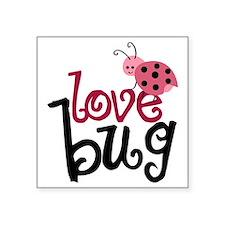 "lovebug Square Sticker 3"" x 3"""