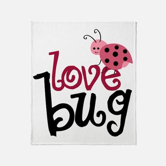 lovebug Throw Blanket