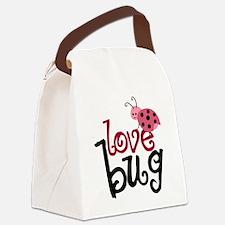 lovebug Canvas Lunch Bag