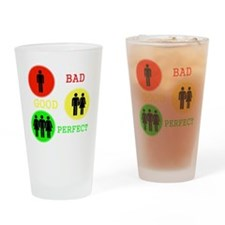 Threesome - FMF Drinking Glass