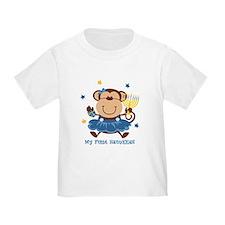 Monkey Girl 1st Hanukkah T