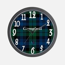 Campbell Clan Wall Clock