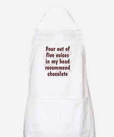 Chocolate Voices BBQ Apron