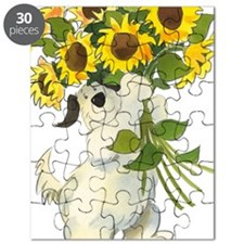 Waldo With Sunflowers Puzzle