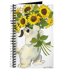 Waldo With Sunflowers Journal