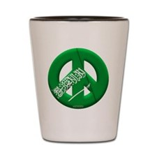 Saudi Arabia Shot Glass