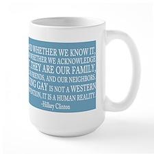 Gay People Clinton Quote Mug