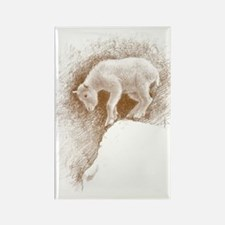 Goat hand-draw Rectangle Magnet
