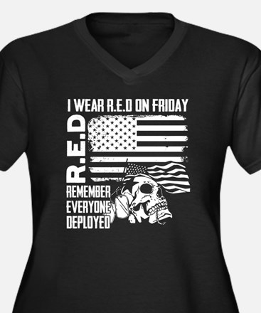wear red on friday for our troop Plus Size T-Shirt