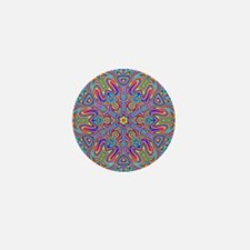 Digital Mandala 4 Mini Button