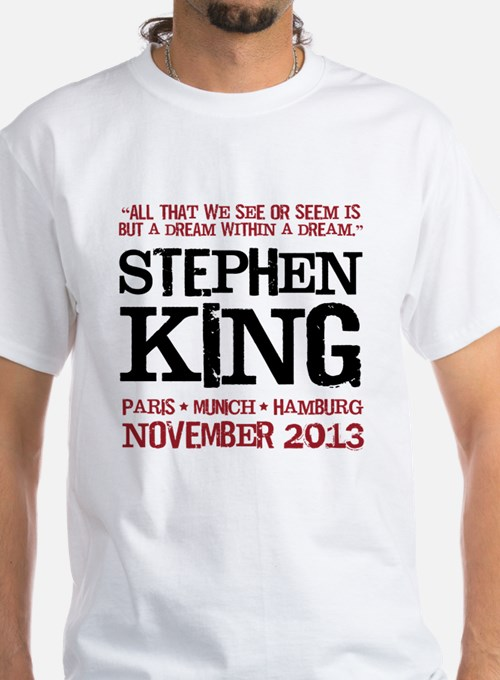 We never sleep stephen king t shirts shirts tees for We the kings t shirts