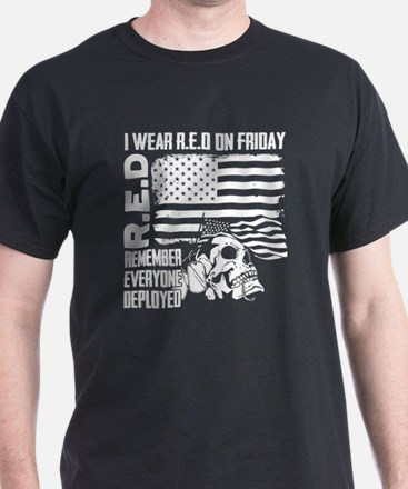 wear red on friday for our troops T-Shirt