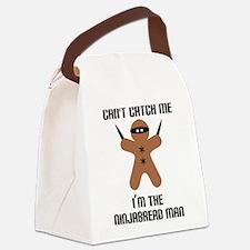 Ninjabread Man Canvas Lunch Bag
