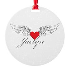 Angel Wings Jaelyn Ornament