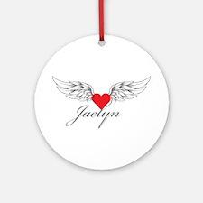 Angel Wings Jaelyn Ornament (Round)
