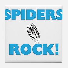 Spiders rock! Tile Coaster