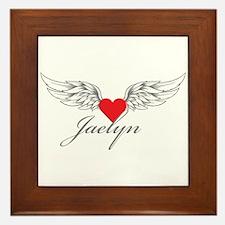 Angel Wings Jaelyn Framed Tile