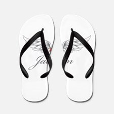 Angel Wings Jaelynn Flip Flops