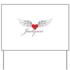 Angel Wings Jaelynn Yard Sign