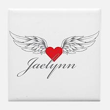 Angel Wings Jaelynn Tile Coaster